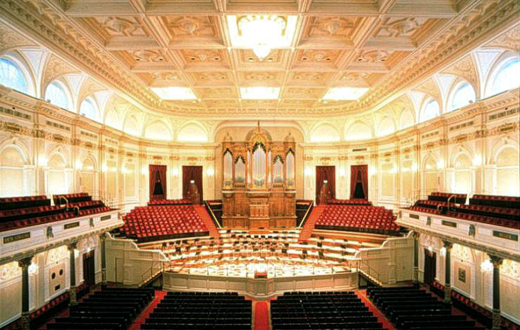 Concertgebouw in Amsterdam (wiki - Bureau Monumenten & Archeologie)