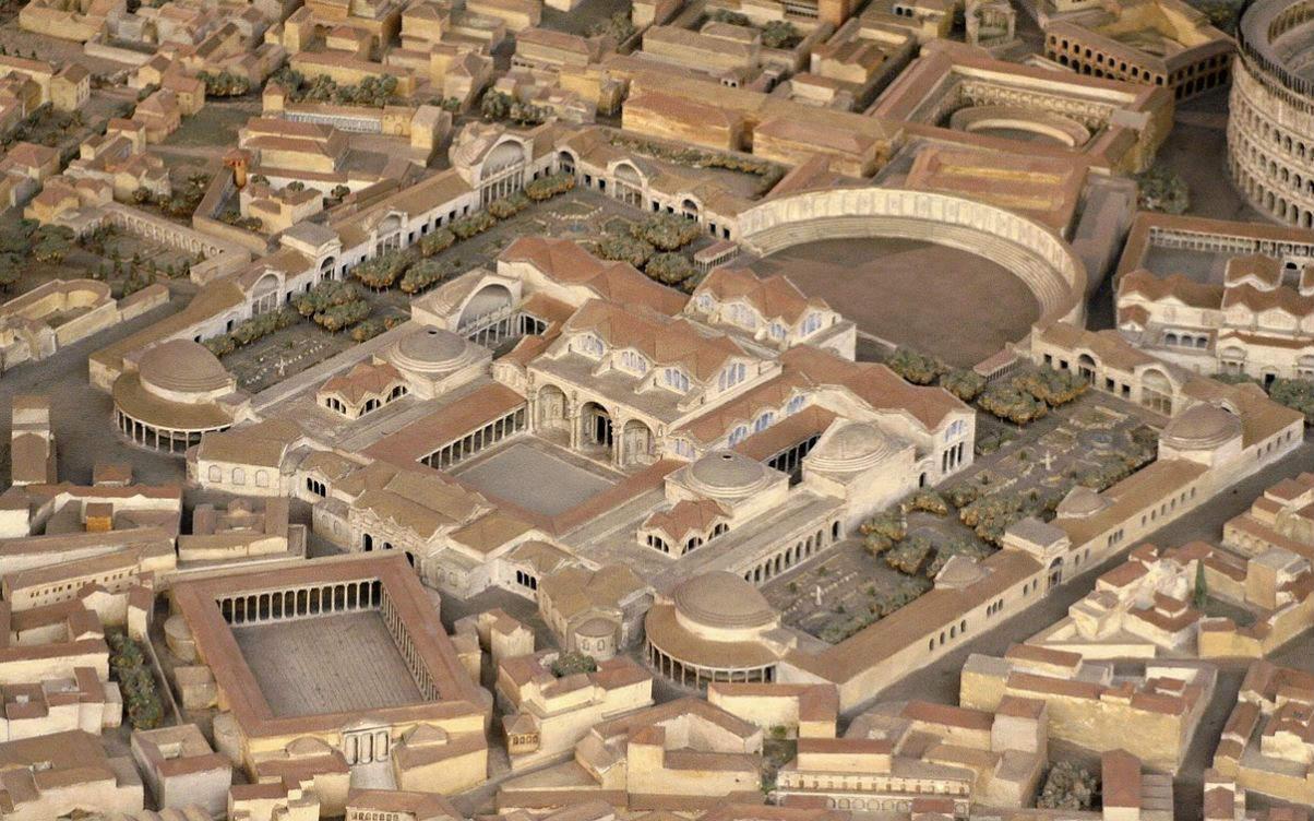 Romeinse thermen en de Romeinse badcultuur