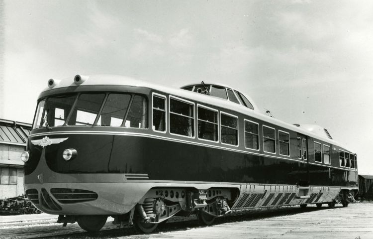 De Kameel (NS 20) - Foto: Spoorwegmuseum / CC BY 2.0