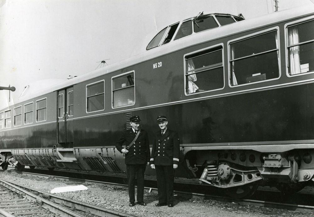 Kameel met machinist - Foto: Spoorwegmuseum / CC BY 2.0