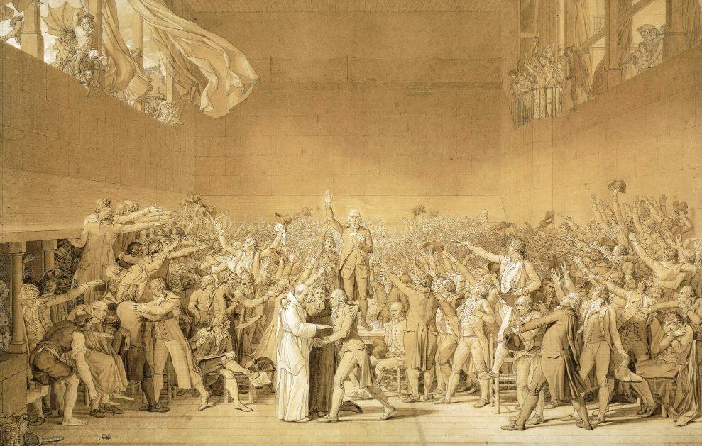 De Eed op de Kaatsbaan (1789)