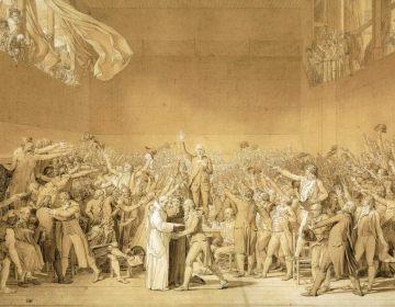 De eed op de kaatsbaan - Jacques-Louis David, 1791