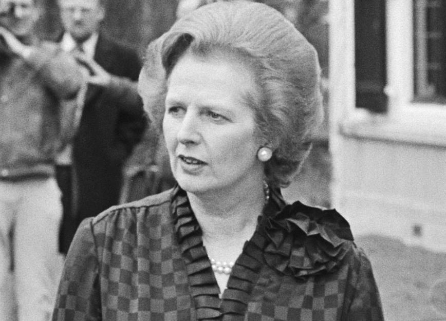 Margaret Thatcher was aanvankelijk vrij positief over Europa