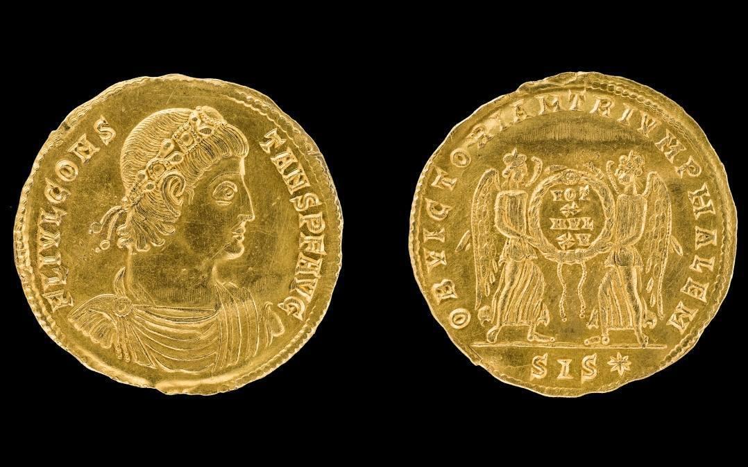 Groot Romeins goudstuk gevonden in Noord-Duitsland