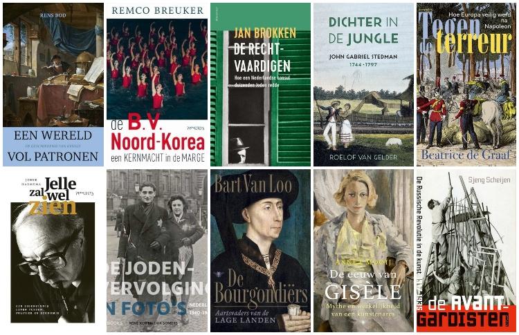 Dit zijn de 10 beste geschiedenisboeken van het jaar
