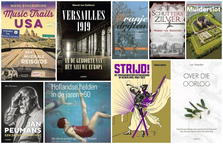 Nieuwe geschiedenisboeken (week 28) – 2019