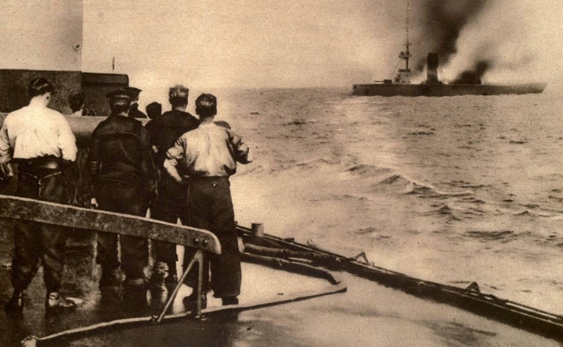 Zeeslagen bij Helgoland tijdens de Eerste Wereldoorlog