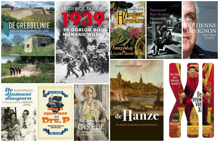Nieuwe geschiedenisboeken (week 31/32) – 2019