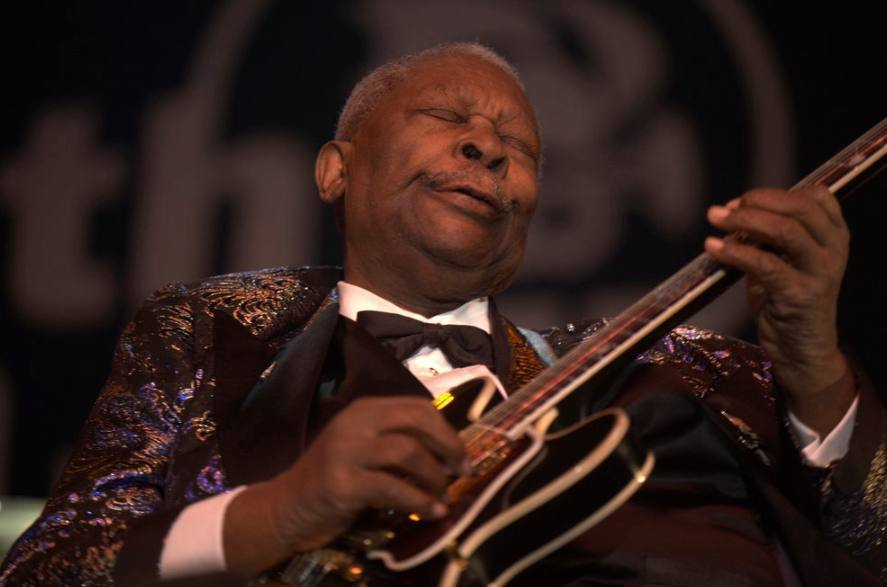 B.B. King (1925-2015) – Amerikaanse bluesgitarist