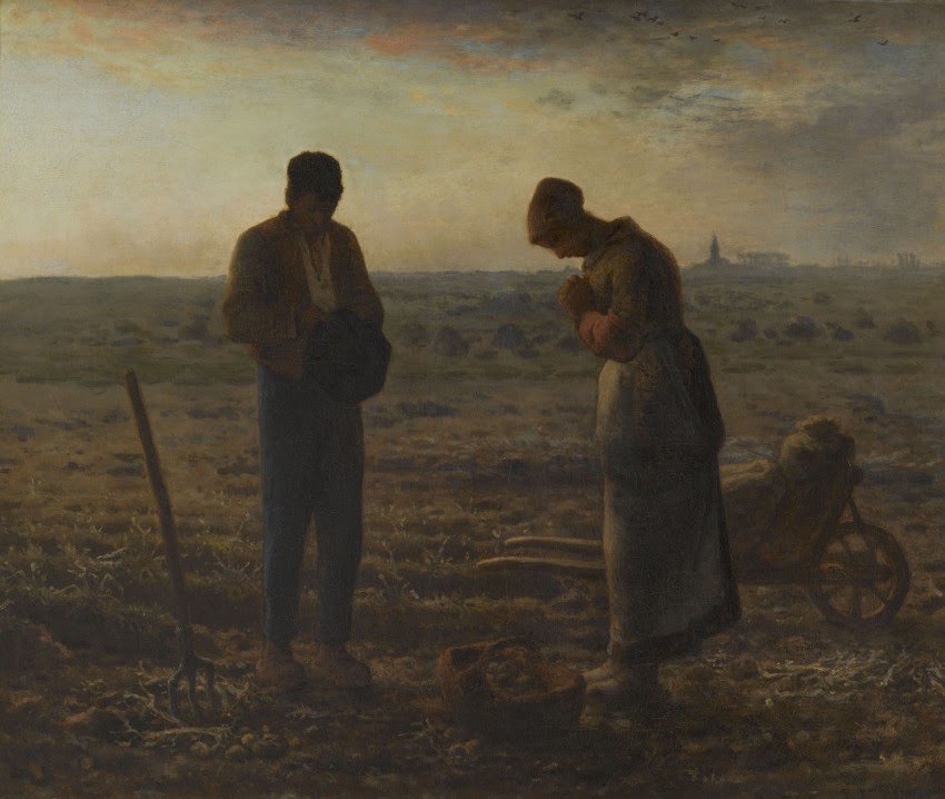Het angelus – Jean-François Millet