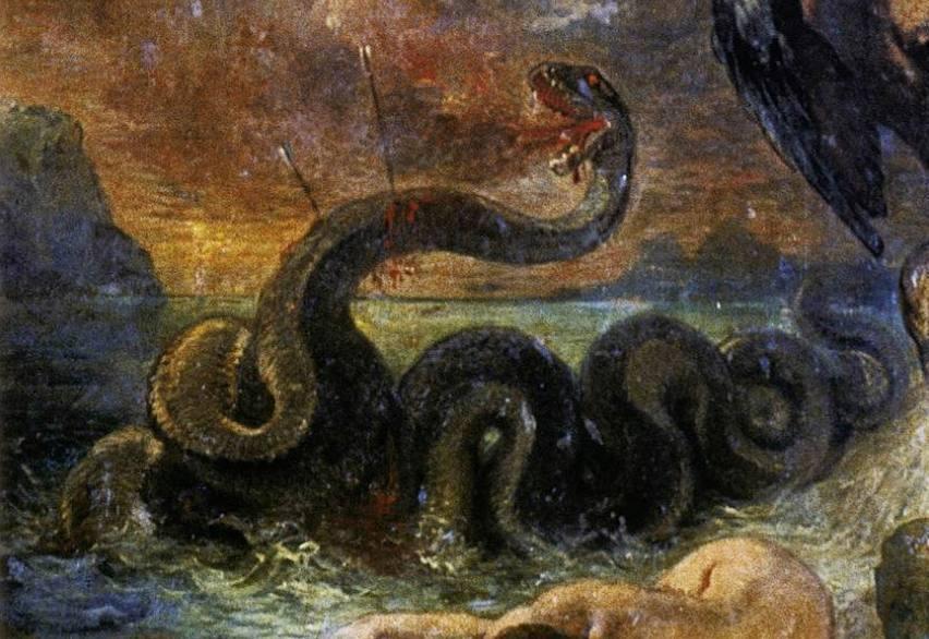 Python – Slang in de Griekse mythologie