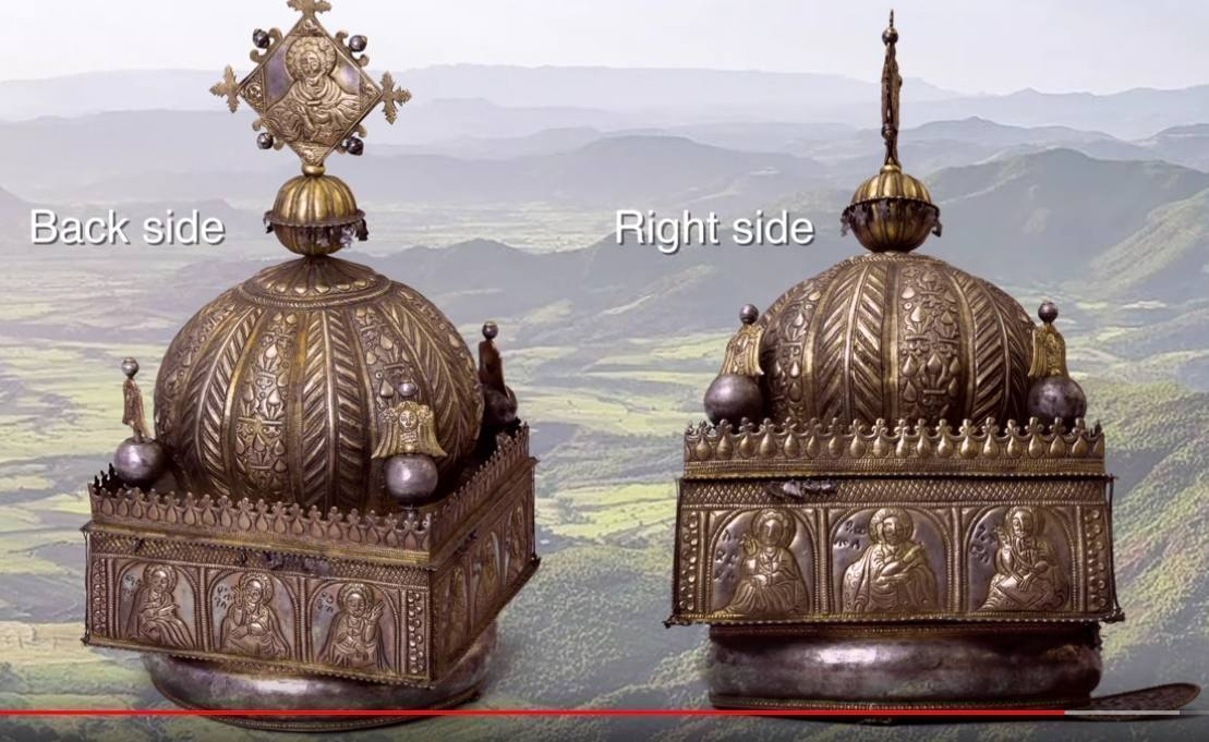 Nederland brengt Ethiopische 18e-eeuwse kroon terug