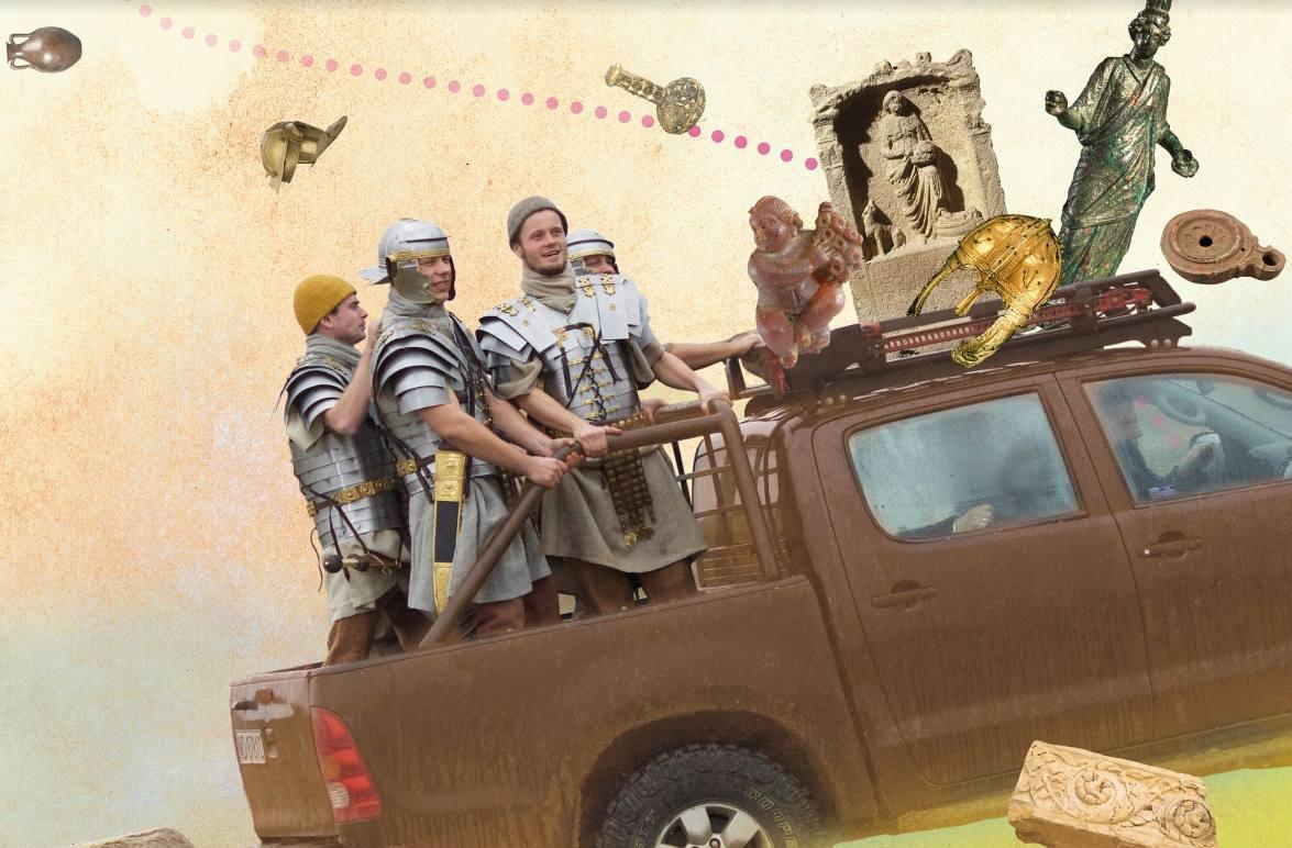 Romeinenweek 2020 in teken archeologie