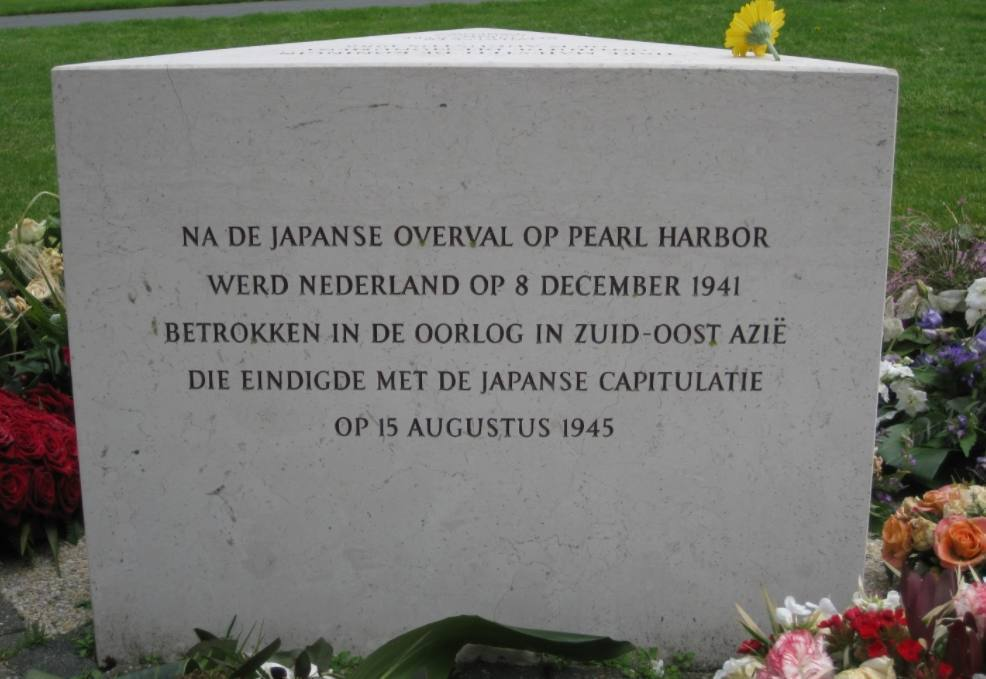 Koning bij Nationale Herdenking 15 augustus 1945