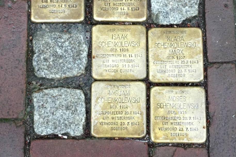 Herinneringen aan de vermoorde Joden van Gouda