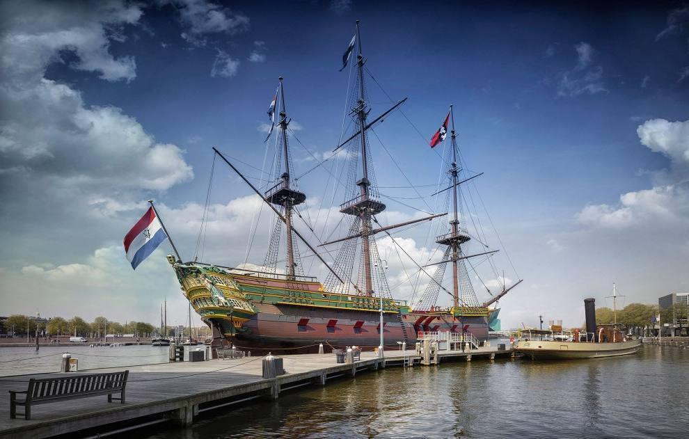 VOC-schip Amsterdam krijgt opknapbeurt
