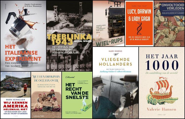 Nieuwe geschiedenisboeken (week 31/32) – 2020