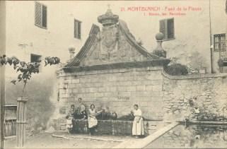 La Font a principis del segle XX. Foto: ACMO. Col·leccions: Postals.