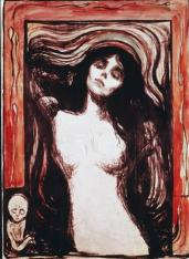 Edvard Munch; Madonna; 1895; woodcut; Art Institute of Chicago
