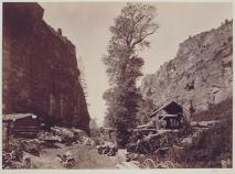 Timothy O'Sullivan; American Fork Canyon, Wahsatch Mountains; 1869; albumen print; 19.7 x 26.9 cm; George Eastman House