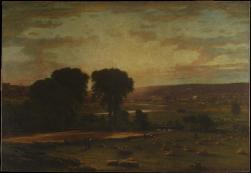 George Inness; Peace and Plenty; 1865; oil on canvas; 197.2 x 285.4 cm