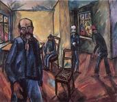 Erich Heckel; Madman; 1914; oil on canvas
