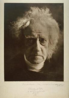 Julia Margaret Cameron; Sir John F. W. Herschel; 1867; carbon print; Fine Arts Museum of San Francisco