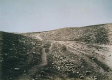 Roger Fenton; The Valley of the Shadow of Death; 1855; salted paper print from collodion negative