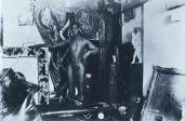 Ernst Ludwig Kirchner; Sam and Milly in Kirchner's Dresden Studio; c.1910