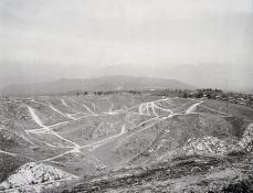 Robert Adams; Above Interstate 10; East Ridge of Redlands; 1986