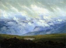 Caspar David Friedrich; Drifting Clouds; 1820