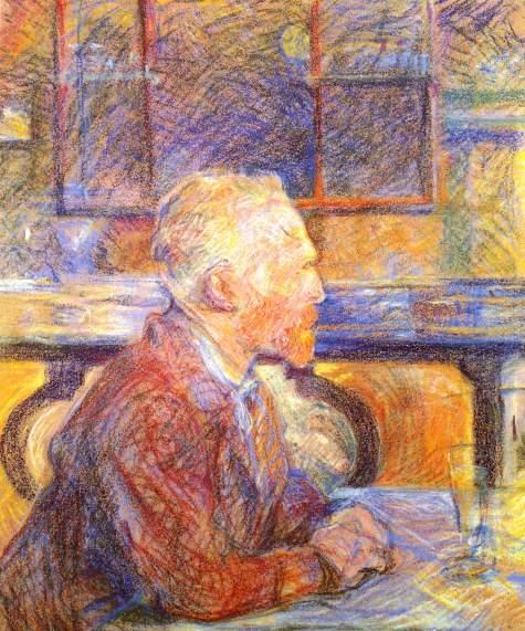 Portrait de Vincent van Gogh 1887