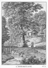 J. Merigot; L'hermitage; 1788