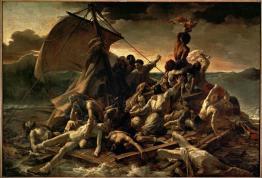 Théodore Géricault; The Raft of the 'Medusa'; 1819; oil on canvas; 491 x 716 cm; Musée du Louvre