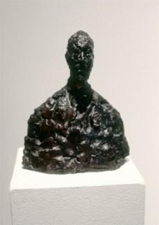 Alberto Giacometti; Dr. Fraenkel; 1951; bronze