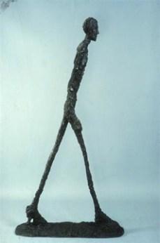 Alberto Giacometti; Man Walking; 1960; bronze; Albright-Knox Art Gallery