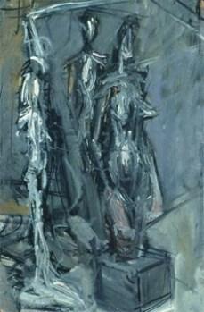 Alberto Giacometti; Studio (detail); 1953; oil on canvas