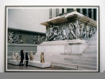 Thomas Struth; Pergamon Museum, VI; 2001; c-print mounted on plexiglass; 61.25 x 97.25 inches