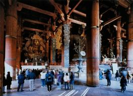 Thomas Struth; Todai-ji, Nara; 1995; print on paper; 178 x 239.2 cm