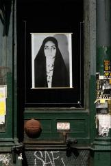 Shirin Neshat; Unveiling; 1993; Installation; Source material in Franklin Furnace Archive, Inc., Brooklyn, NY