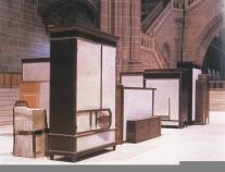 Doris Salcedo; Untitled Installation; 1999