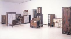 Doris Salcedo; Untitled Works, 1995 Installation at Carnegie International; 1989-95