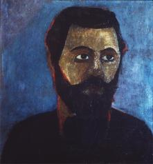 Paula Modersohn-Becker; Portrait of Werner Sombert; 1906; 50 x 46 cm