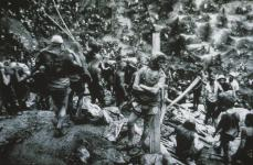 Sebastiao Salgado; Brazil: A moment of rest for this worker; 1986