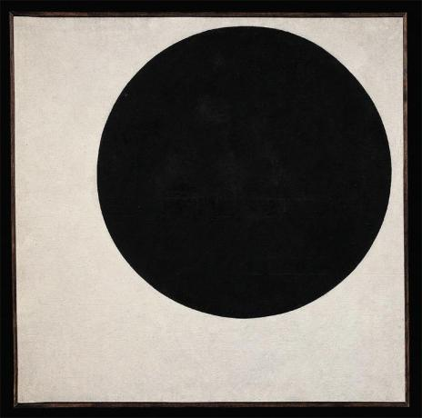 Kazimir Malevich; Black Circle; c.1923; oil on canvas; 105.5 x 106 cm; State Russian Museum, St. Petersburg