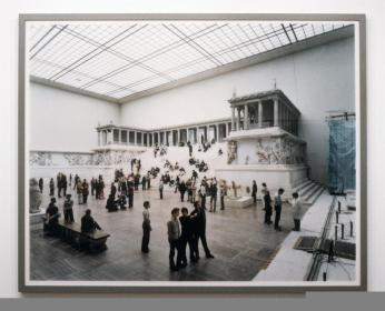 Thomas Struth; Pergamon Museum, Berlin I; 2001; c-print mounted on plexiglass; 80.75 x 100.75 inches