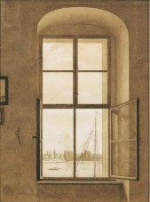 CDF, Window in Studio, Sepia