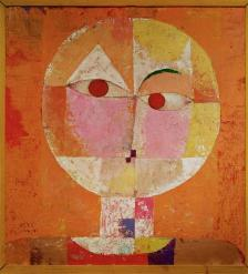 Senecio (Tiny Old Man) Work Type painting Date 1922 Material oil on canvas Measurements 36.5 x 38.1 cm