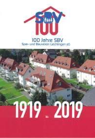 Buch 100 Jahre SBV Leichlingen