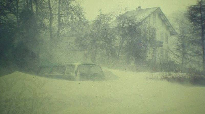Zuidbroek, winter 1979